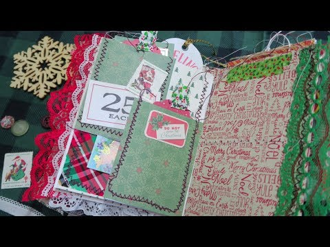 Interactive multi-pocket flip page/Junk Journal Page idea| I'm A Cool Mom