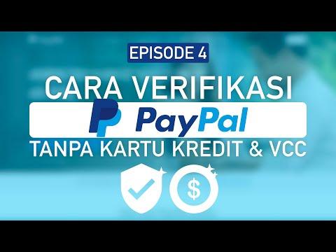 Microstock Ep 4 - Cara Verifikasi PayPal Tanpa Kartu Kredit Tanpa VCC dan Legal