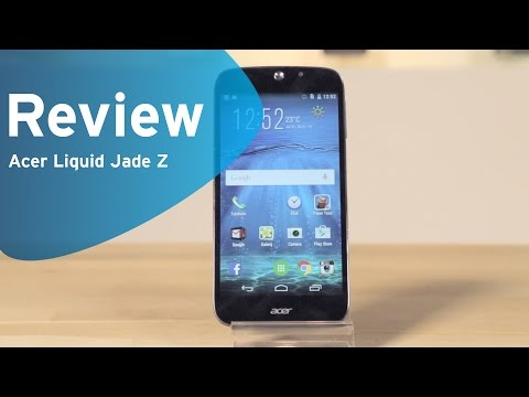 Acer Liquid Jade Z review (Dutch)