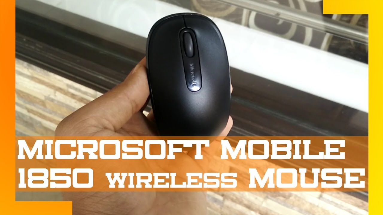Microsoft Mobile Wireless 1850 Mouse Full Review