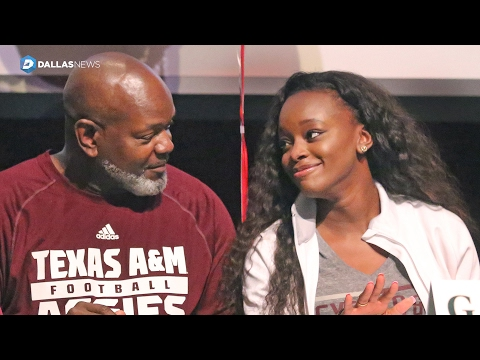 Rheagen Smith, daughter of Emmitt Smith, signs with Texas A&M soccer team