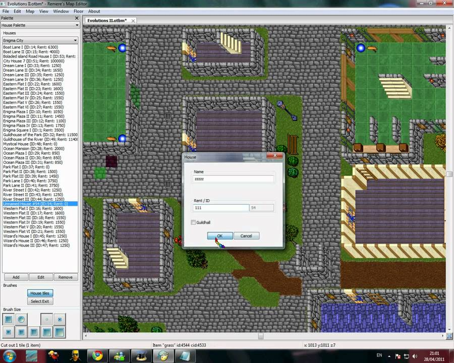How to make houses remere\'s map editor [HELP] - YouTube