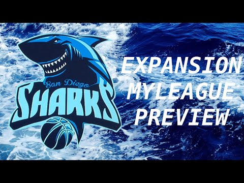 San Diego Sharks Expansion MyLeague Preview!