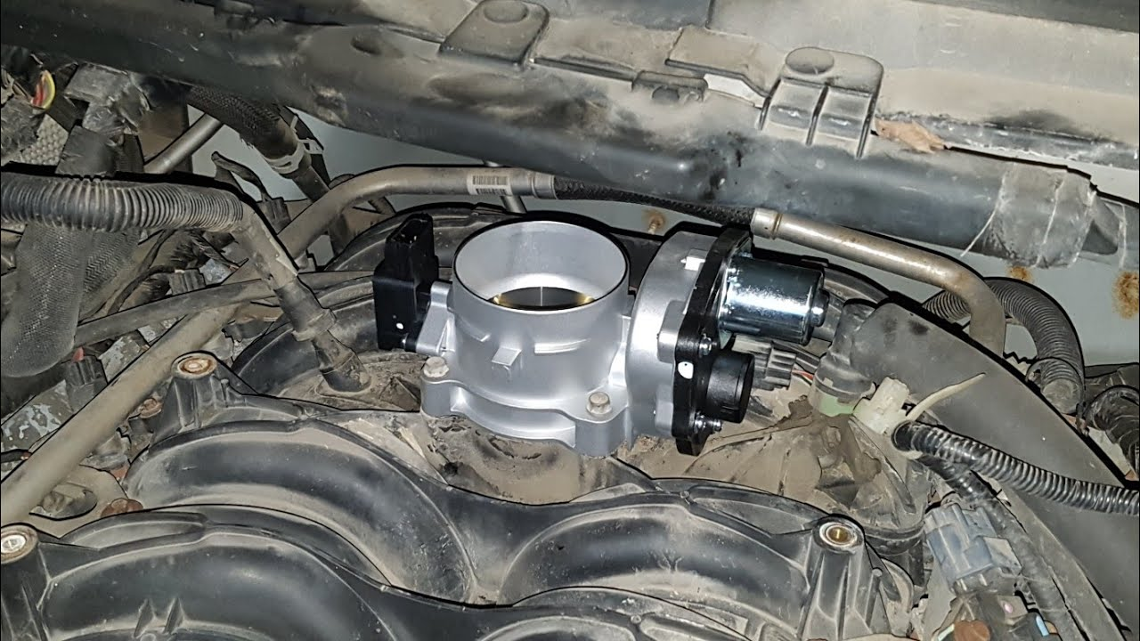 ford f150 f250 5 4 3v stalling electronic throttle body replacement [ 1280 x 720 Pixel ]