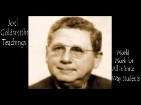 Joel Goldsmith - World Work for All Infinite Way Students