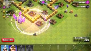 Clash of clans only Only wizards