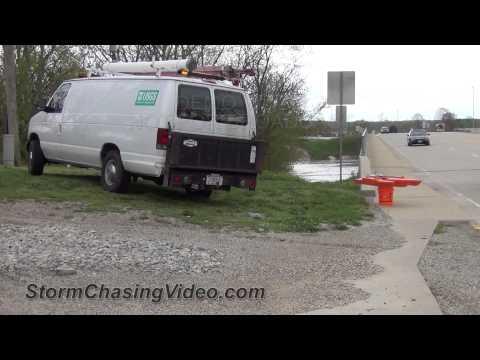 4/19/2013 Vandalia, IL Major River Flooding B-Roll