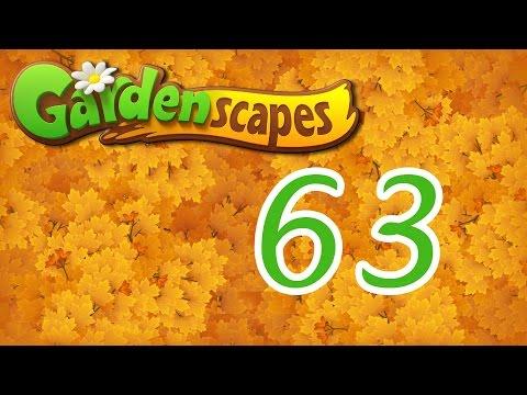 Gardenscapes level 63 Walkthrough