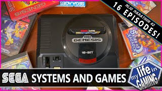 My Life in Gaming Marathon #2 - SEGA Systems and Games