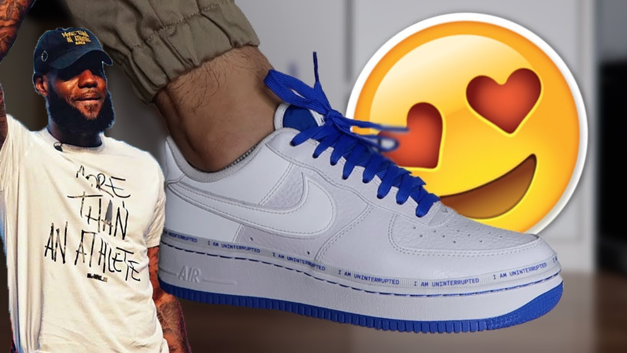 Nike Launches Customizable Air Force 1 With Uninterrupted