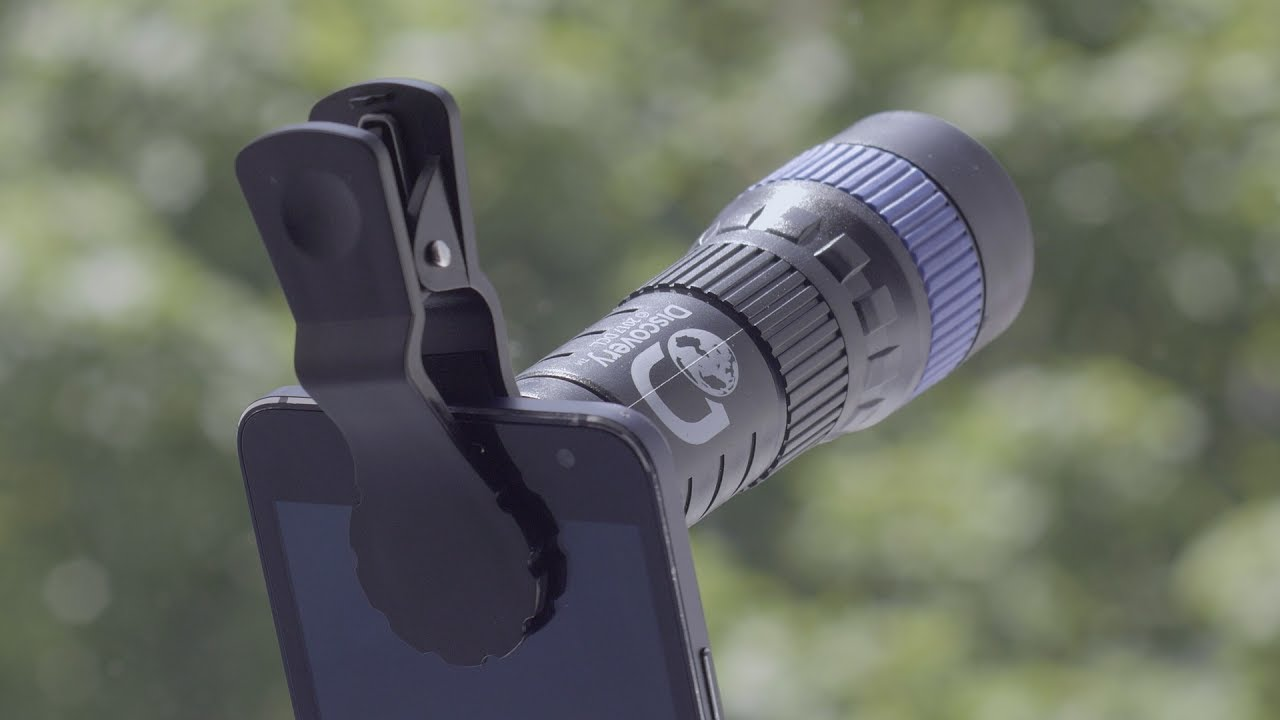Discovery channel smart phone telescope paladone youtube