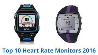 10 Best Heart Rate Monitors‎ 2016