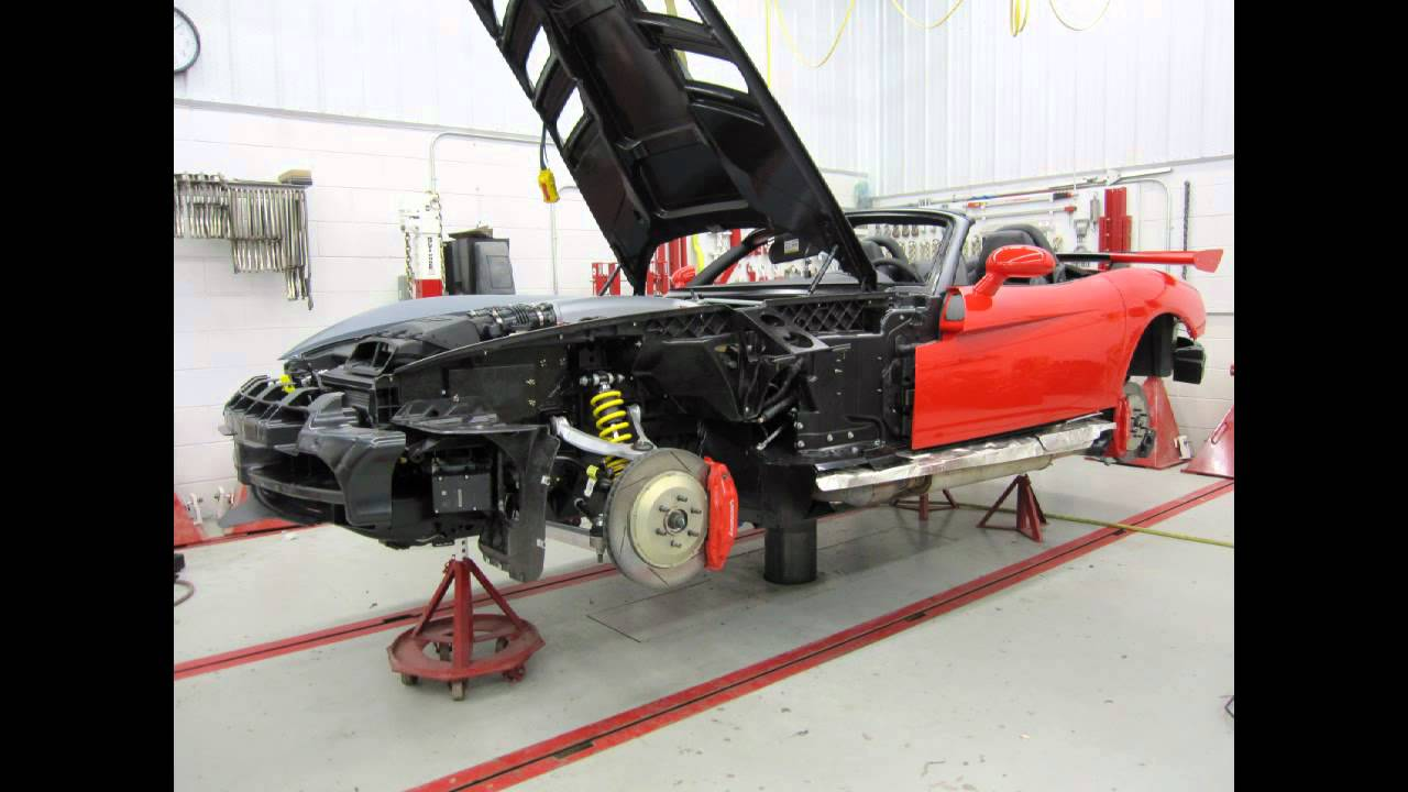 Dodge Viper Frame Replacement Youtube