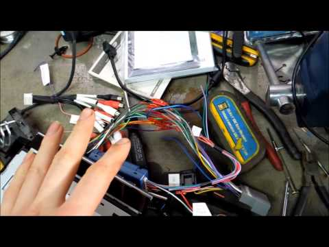How to install a aftermarket stereo in a dodge avenger 2010 - YouTubeYouTube