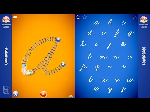 Cursive Writing Complete A-Z Uppercase + Lowercase with Letterschool