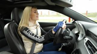 Chevrolet Camaro SS: Тест-драйв в программе Москва рулит.