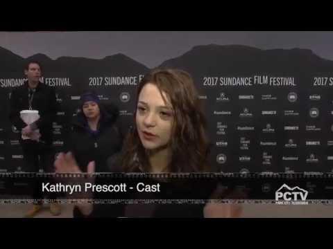Kathryn Prescott at the Sundance festival
