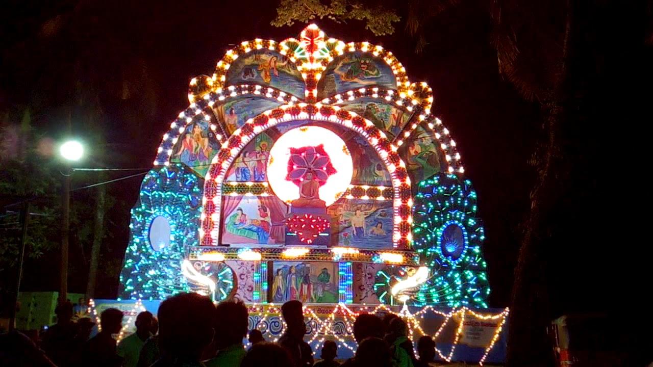 Buddhis Sri Lanka Rayakan Poson Poya di Tengah Lockdown