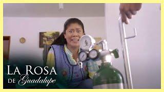 La Rosa de Guadalupe: Poncho se roba un tanque de oxígeno para su abuelita   Más que aire
