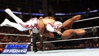 Sin Cara vs. Big E. Langston: SmackDown, Aug. 2, 2013