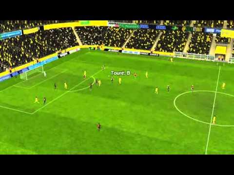FC Nantes vs Stade Rennais FC - Bangoura Goal 6 minutes