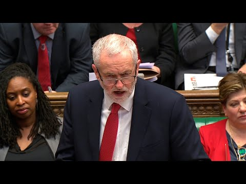 Jeremy Corbyn quotes Stephen Hawking as he challenges Theresa May over NHS