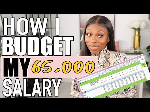 HOW I BUDGET MY £65,000 SALARY A YEAR, A MONTH AND MORE!