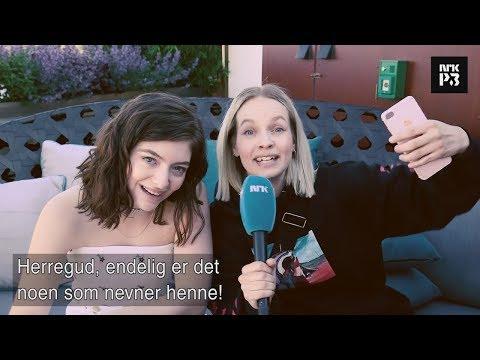Lorde fala sobre AURORA, Sigrid e Susanne Sundfør