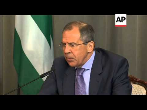 Syrian opposition hopes Russia to pressure Assad, Lavrov comments