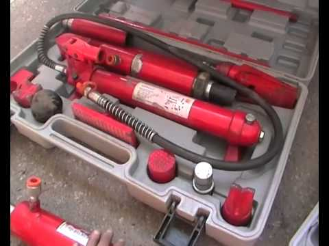 Обзор моей гидравлики для кузовного ремонта