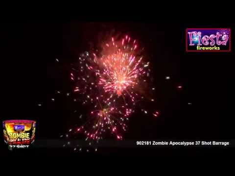 Fiesta Fireworks - 902181 Zombie Apocalypse 37 Shot Barrage