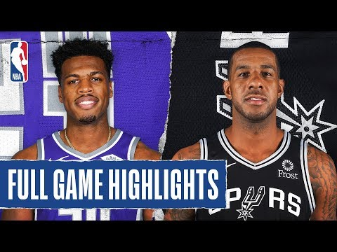 Sports Desk - Watch Highlights Of The Spurs Overtime Win Over The Kings