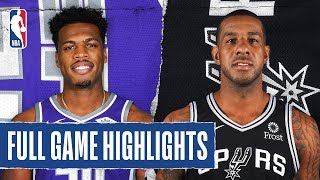 KINGS at SPURS | FULL GAME HIGHLIGHTS | December 6, 2019