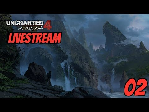 Uncharted 4 A Thief's End Blind LiveStream Part 2