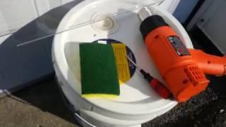 Polycarbonate, Lexan, Plexiglass, Acrylique, removing scratches, comment enlever les rayures