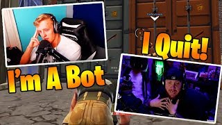 When Fortnite Streamers Play Like Bots