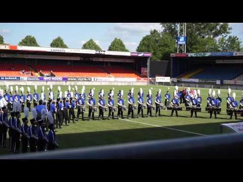 Blue Devils International 2015 - On field Warmup & Ditty