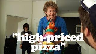 """High-Priced Pizza"" ft Bryan Stars & Johnnie Guilbert - AVERAGE JOE"
