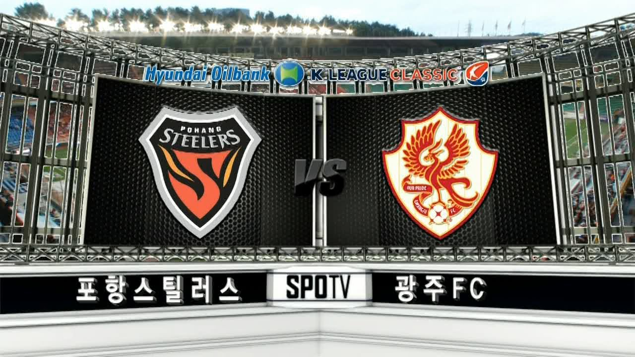 Pohang Steelers 2-1 Gwangju Football Club