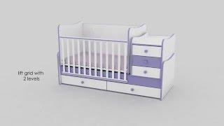 Children's Bed MAXI PLUS by Lorelli