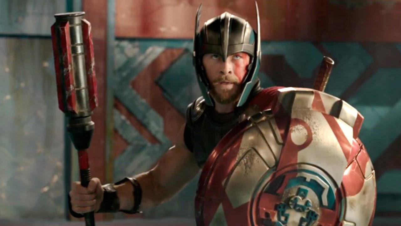 thor faces off with the hulk & shows off short hair in first thor