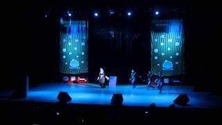 Жемчужина мира-2014. Зарина Мустафина, Казахстан. Творческий номер