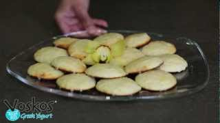 Voskos Lemon-ricotta Yogurt Cookies