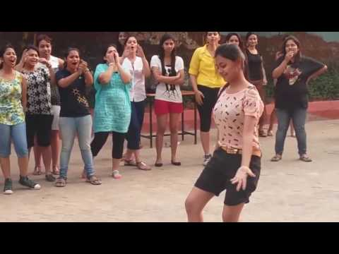 Orissa college girls dance