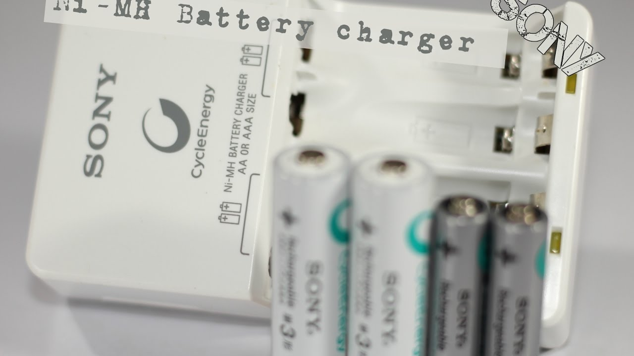 Sony Cycle Energy Nimh Aa Aaa Battery Charger Bcg 34hhn Youtube Circuit D Mohankumar Chargers