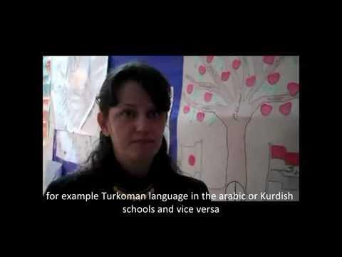 Advocacy training in schools in Kirkuk - Interview of teacher - 18/03/12