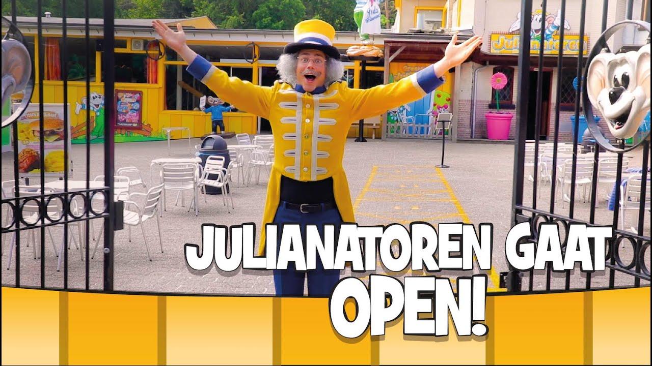 HOERA! De Julianatoren gaat weer open!! 🎡