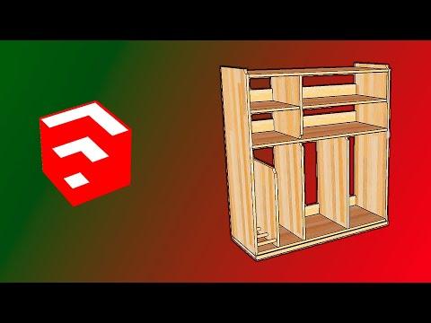 Программа SketchUp для СТОЛЯРОВ. Как начать проектировать на SketchUp в столярке!