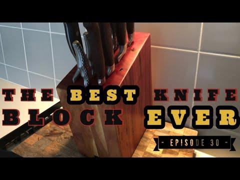 The Best DIY Knife Block EVER!