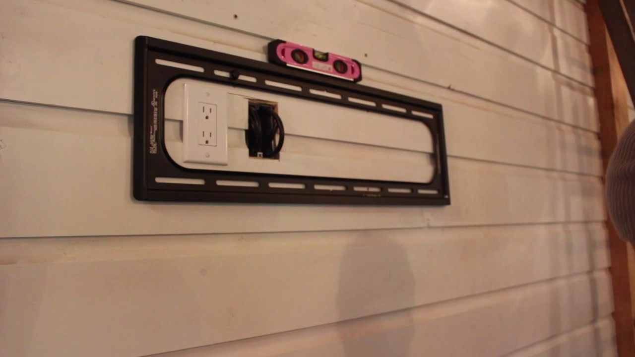 Sanus Tilting TV Wall Mount Blogger Review and Installation - YouTube